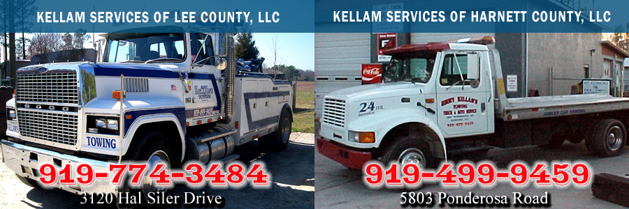 Kellam Services of Lee County - (919) 774-3484 and Kellam Services of Harnett County - (919) 499-9459