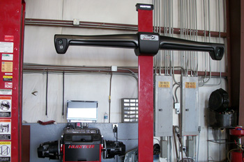 Hawkeye Four Wheel Alignment System