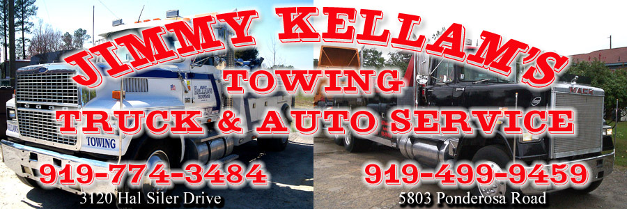 Jimmy Kellam Towing Truck & Auto Service - (919) 499-9459
